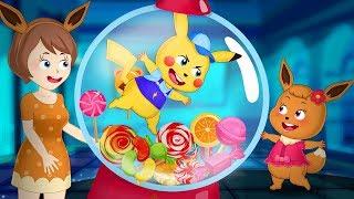 Pokemon Family 💖 Pikachu cartoon Funny story with pokemon babie 💖 Pikachu Toys TV (P1)