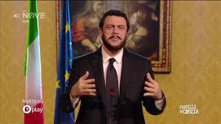 Crozza Salvini E La Legge Sulla Legittima Difesa