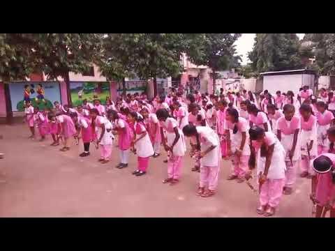 लेझिम  | Lezim | With Dhol Tasha | Sumantai Gawhane High school | Parbhani | Maharashtra