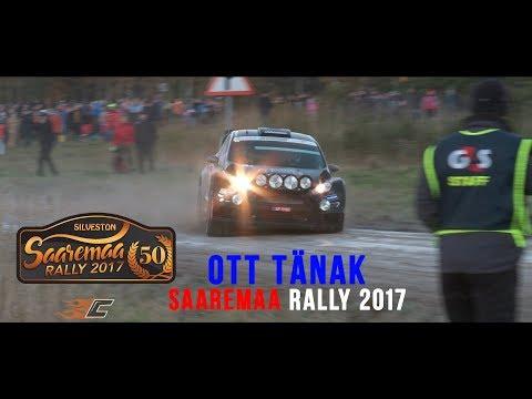 Ott Tänak on Saaremaa rally