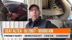 SEAT ALTEA - BJ 2007 - 95000 KM -Probleme - Gebrauchtwagencheck - was ist da wohl dran?