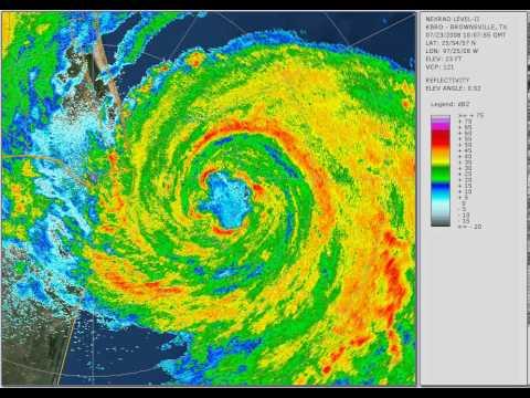 Hurricane Dolly 2008: South Texas landfall