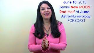 Gemini NEW Moon (Sun/Moon/Mars!) & Jupiter Trine Uranus - Astrology Numerology Forecast