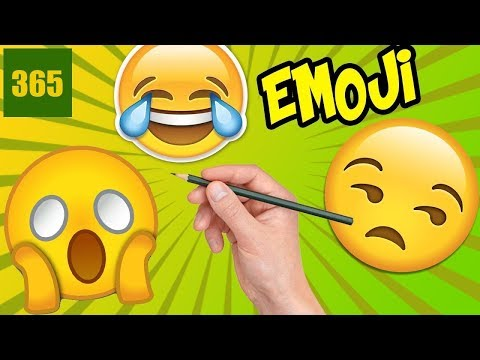 HOW TO DRAW EMOJIS IN HUMANS - Emojis in real life - emoji challenge