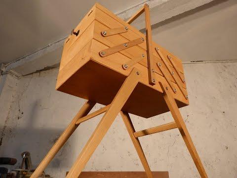 Travail du bois part 2 restauration d 39 une travailleuse - Restauration d une table en bois ...