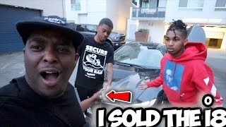 I SOLD THE i8 PRANK ON DDG . . .  * crazy reaction *