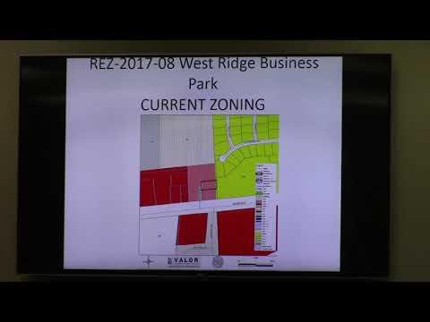 5. REZ-2017-08 WestSide Business Park 2806 Cameron Lane Rezone 0.84 ac C-G to C-H