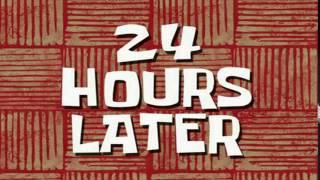 Скачать 24 Hours Later SpongeBob Time Card 65