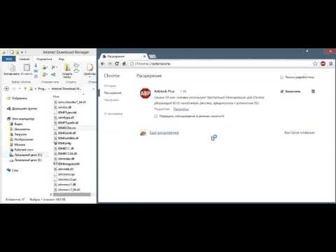 Интеграция internet download manager в google chrome