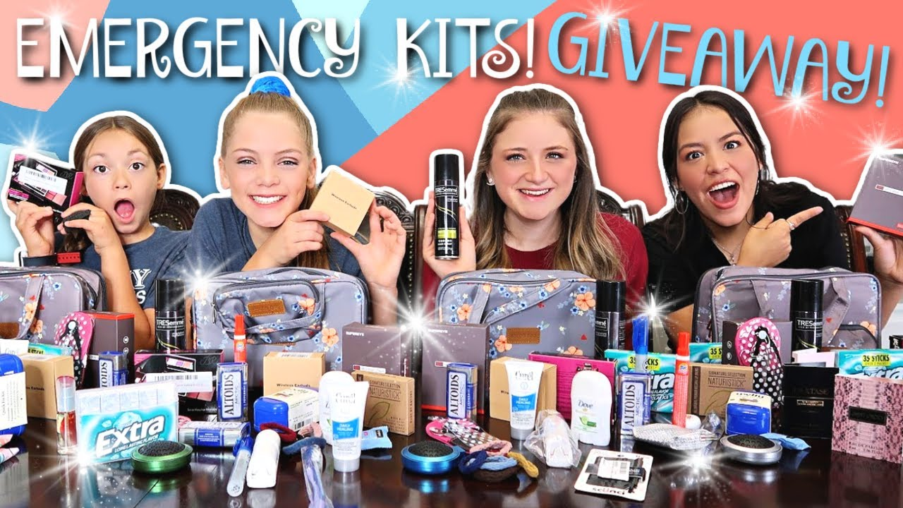 Download Emergency Kits for Teen Girls 2020-2021!   Back To School!   Period Kits!