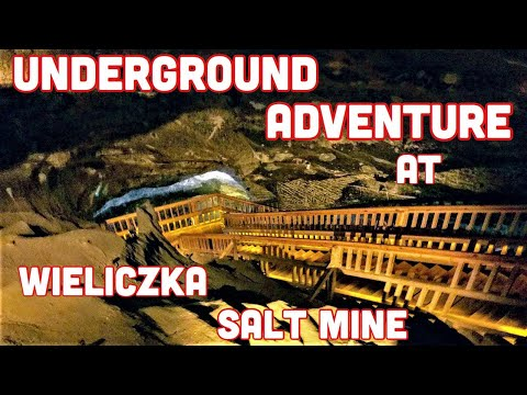 JOURNEY CONTINUES  AT WIELICZKA SALT MINE, Poland Part 3