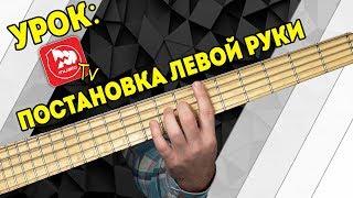 Постановка Левой Руки.  Уроки на басу с Дмитрием Максимовым