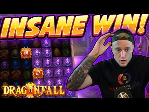 INSANE WIN! Dragon Fall BIG WIN - NEW SLOT From Blueprint - Casino Game From Casinodaddy Live Stream