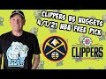 Los Angeles Clippers vs Denver Nuggets 4/1/21 Free NBA Pick and Prediction (NBA Betting Tips)
