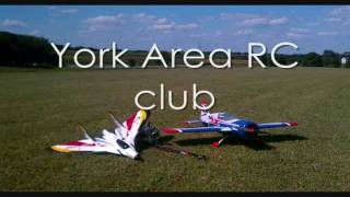 parkzone f 27q and e flite yak54