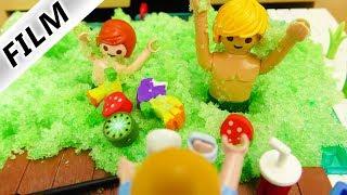 Playmobil Film Deutsch SQUISHYS IM GELLI BAFF GLIBBER POOL SUCHEN! HANNAHS CHALLENGE! Familie Vogel
