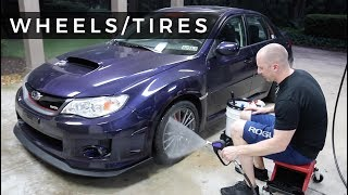 WRX Detailing Series: E1 - Intro and Wheel/Tire Cleaning