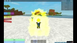 The best Super Saiyan of the world Sqn How to turn Super Saiyan-ROBLOX