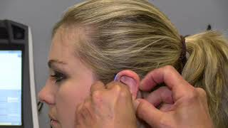 Demonstration of Hearing Aid Fitting
