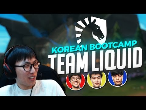 Doublelift - Bootcamping in Korea with Team Liquid (feat. Olleh, Impact, & Pobelter)