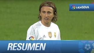 Resumen de Real Madrid (0-0) Málaga CF