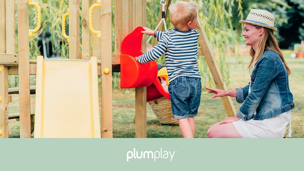 Plum Toddlers Tower Climbing Frame