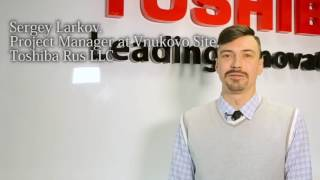 Toshiba Total Solution for Postal Services