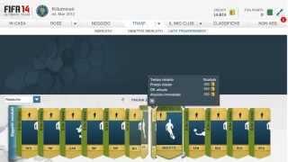 FIFA 14 WEB APP - ROAD TO 100K EP.3 - Come fare crediti -  LE MIE PRIME 2 SQUADRE!