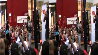 "X Factor 2012 Joel ""The girl is mine"" @ Westfield Chermside"