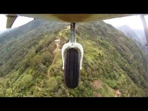 Landing a Twin Otter on a Mountaintop