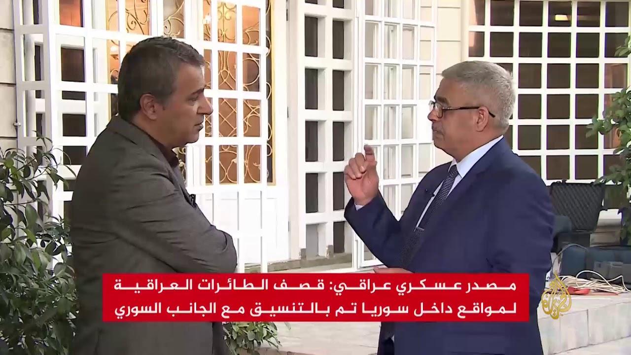 الجزيرة:مكتب العبادي: طائرات عراقية قصفت مواقع لتنظيم الدولة بسوريا