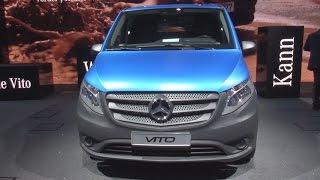 Mercedes-Benz Vito 119 BlueTEC 4x4 Panel Van Exterior And Interior