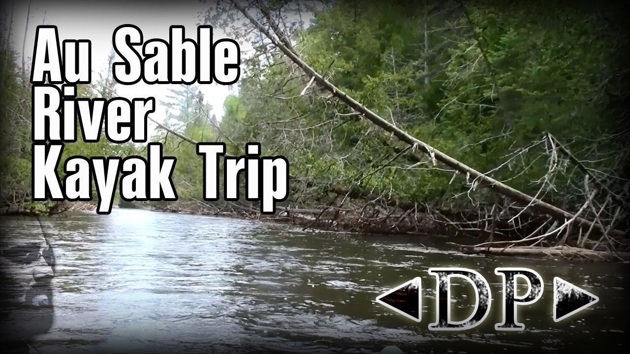 Kayaking the Au Sable River 2013