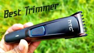 HTC At-522 trimmer unboxing amp full review Best trimmer under 499 rupee new best trimmer for men