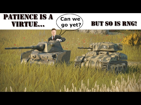 World of Tanks - Patience Is A Virtue, So is RNG. (Console)