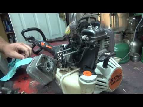 Stihl KM 130 carburetor teardown