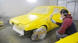 Vlog (7 часть) — Ваз-2108 корч для кольцевых гонок, Plasti Dip - полная покраска автомобиля