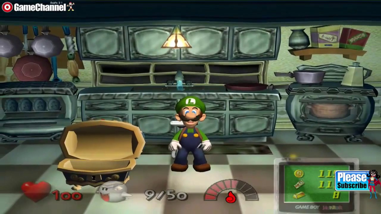 luigis mansion gamecube fr