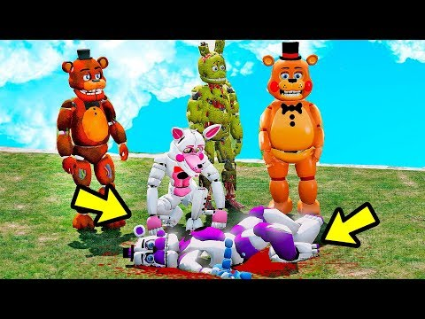 Animatronics Quem MATOU Funtime Freddy (Sister Location)?   GTA V Five Nights at Freddy's thumbnail