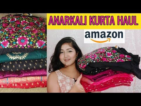 Best Amazon Anarkali Kurta Haul | Amazon Anarkali Kurta Under 1000 | Amazon Affordable Kurta Haul