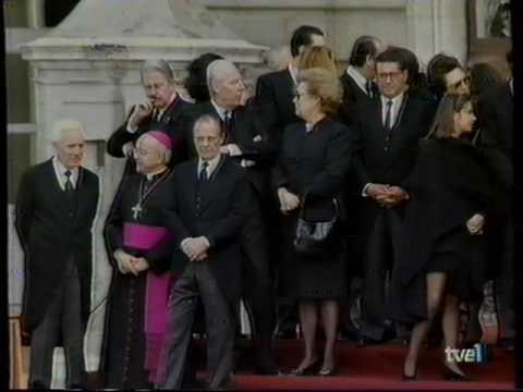 TVE 1 (Funeral Estado Don Juan de Borbon y Noticias) 3-4-93