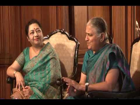 Sudha Murty in conversation with Dr. Malabika Sarkar