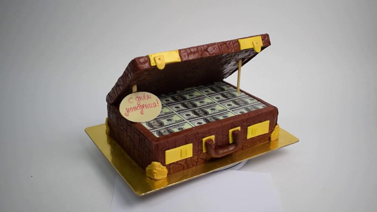 мк торт кейс с деньгами