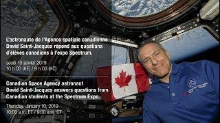 LIVE – David Saint-Jacques answers Saskatchewan students' questions from space