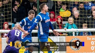 Leamington 0-4 Salford City - National League North 28/04