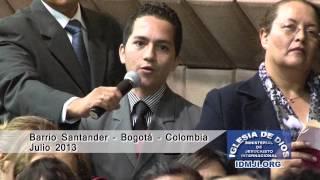 Iglesia de Dios Ministerial de Jesucristo Internacional - Testimonio en Bogotá