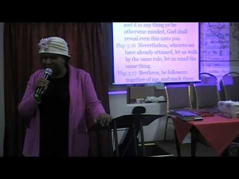 Saturday, January 4th, 2014 - Pastor Ebere Ogba Trotman - Pressing On (1/2)