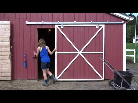 Tour of my Horse Barn!