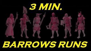 3 Minute Guide to 3 Minute Barrows Runs! (2007scape)