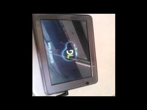 Como formatar o tablet HD7